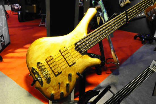 Bass Professor Musik Messe 2011 - Mayones