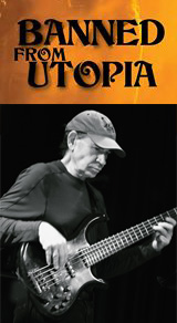 "Tom Fowler - Banned From Utopia Tour 2014 - ZAPPA - Robert ""Bobby"" Martin – Ray White – Ed Mann – Tom Fowler – Albert Wing – Chad Wackerman – Mike Miller"