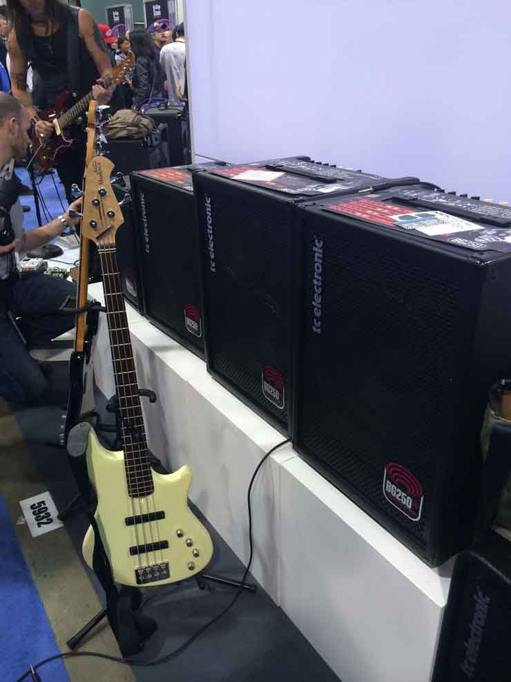 Bass Professor 2/2014, Namm Show Anaheim Jan 2014