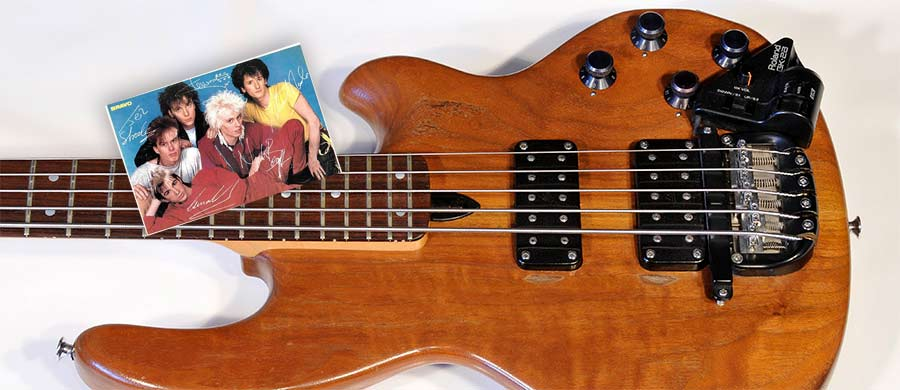 Bass Special: WAL - Nick Beggs