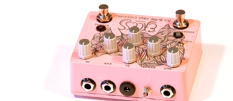 OLD BLOOD NOISE ENDEAVORS Excess Distortion Chorus /Delay.
