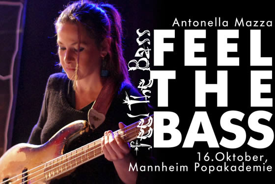 FEEL THE BASS III, 16.Oktober 2011, Mannheim. Antonella Manza