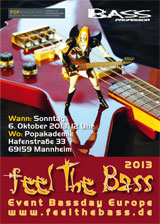 Feel The Bass 2013, Mannheim 6.Oktober 2013