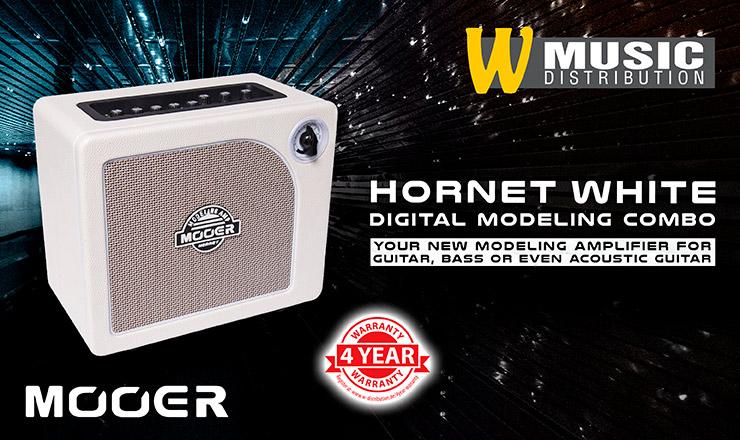 Mooer Hornet White - Digital Modeling Combo