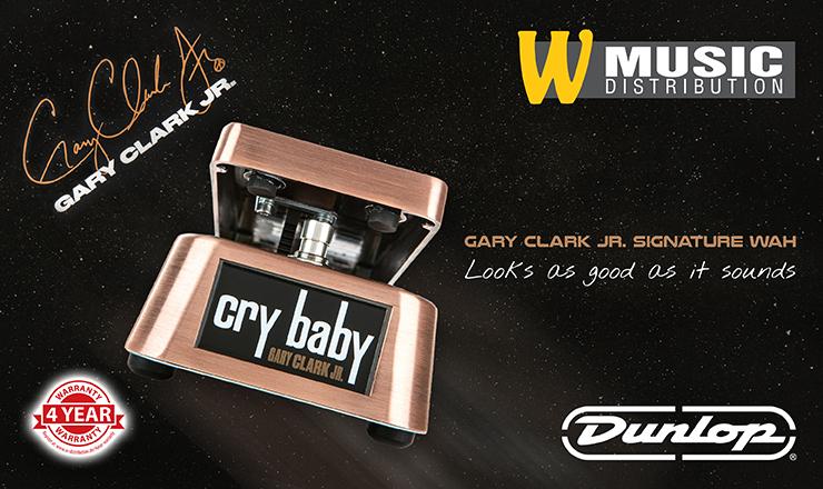 Dunlop GCJ95 - Gary Clark Jr. Cry Baby Wah