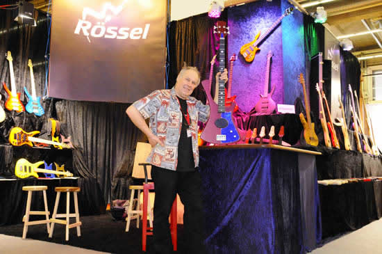 Bass Professor Musik Messe 2011 - Roesselbass