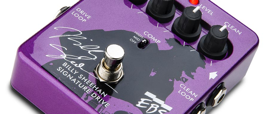 Bass Professor 2/2013, Test: EBS Billy Sheehan Signature Drive Pedal