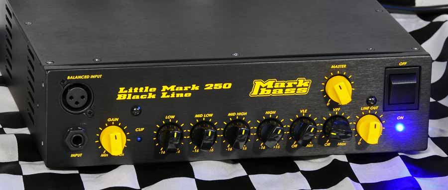 Bass Professor 4/2013 Ausgabe 71, Test: MARKBASS Little Mark 250 Black Line