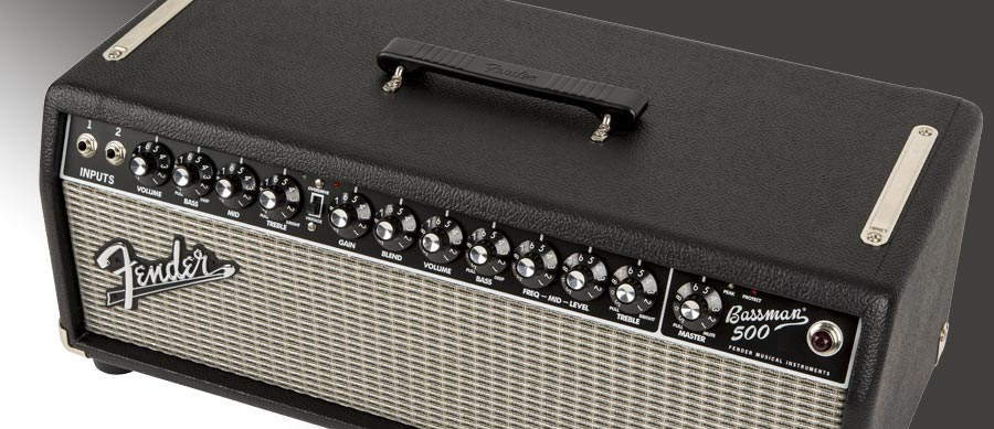 Bass Professor 5/2015, Test: FENDER Bassman 500