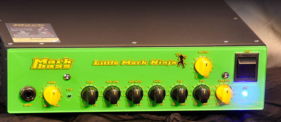 Bass Professor 2/2016, Test: Test: MARKBASS Little Mark Ninja