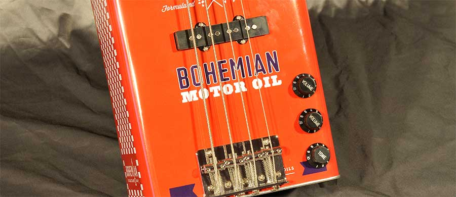 Bass Professor 5/2017. Ausgabe Nr.92, Test: BOHEMIAN Motor Oil Bass.