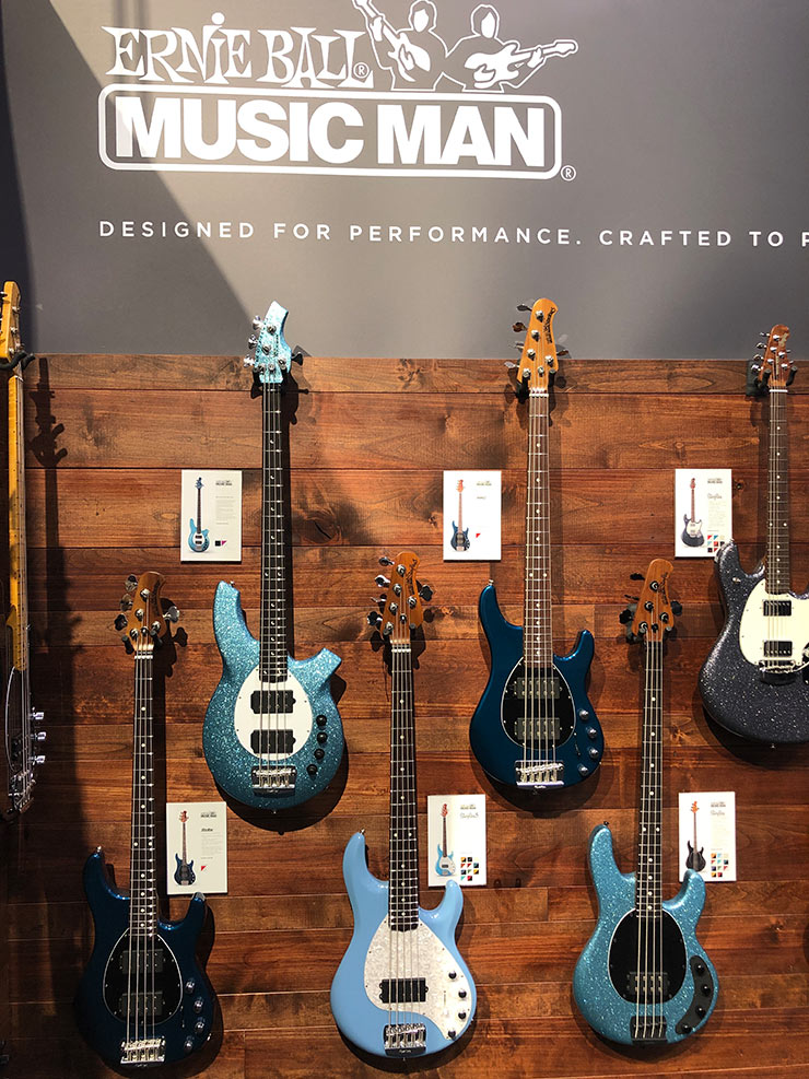 Bass Professor 1/2019, Ausgabe 97. NAMM 2019: Music Man