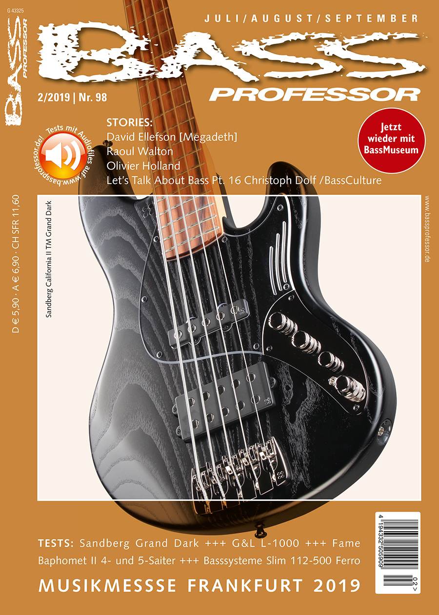 Bass Professor 2/2019